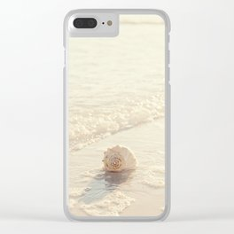 Seashell by the Seashore I Clear iPhone Case