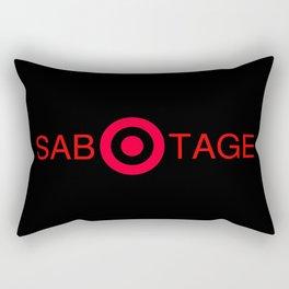 Super Target Sabotage Rectangular Pillow