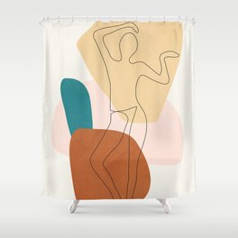 Summer Dance II Shower Curtain
