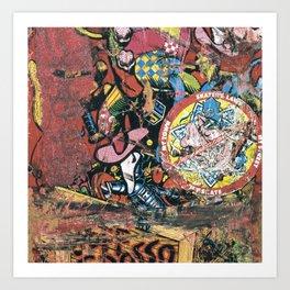 Santa Cruz, Jeff Grosso, Toy Box, 1987 Art Print