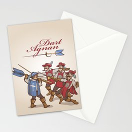 Dart'Agnan Stationery Cards