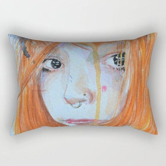 Redhead Rectangular Pillow