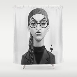 Young Wicked Witch Shower Curtain