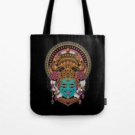 The Mask Dancer Tote Bag