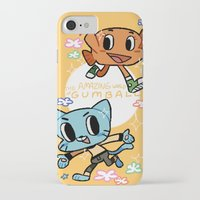 gumball iPhone & iPod Cases featuring GUMBALL by Suyeda