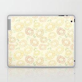 smiley flowers Laptop & iPad Skin