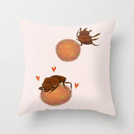 It's a Love Story Throw Pillow