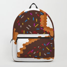 Chocolate Donut Backpack