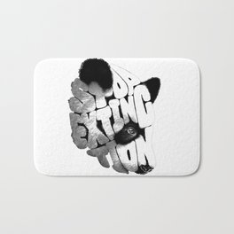 PANDA~FACE Bath Mat
