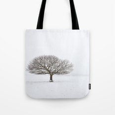 Tree in the Snow Tote Bag