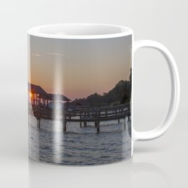 Sunset on the James River Coffee Mug