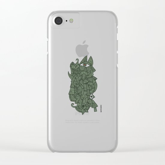 - there was - Clear iPhone Case