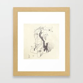 Get It Together Framed Art Print