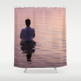 Meditation Time Shower Curtain