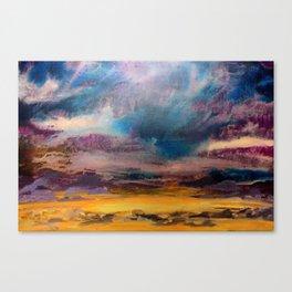 Sunset Rain Canvas Print