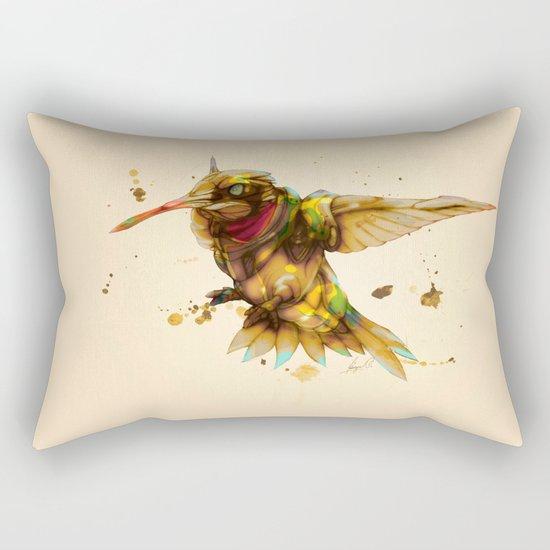 android hummingbird Rectangular Pillow