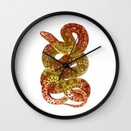 Python Reptile Snake Gift Pet Keep Calm Wall Clock