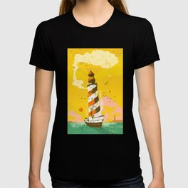 LIGHTHOUSE SHIP T-shirt