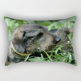 Dachshund Doxie Rectangular Pillow