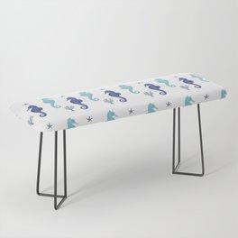 AFE Seahorse Pattern Bench