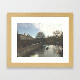 punting  Framed Art Print