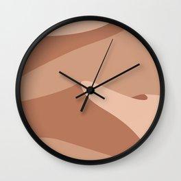 Sand Desert Wall Clock