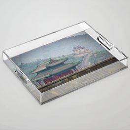 The Great Wall of China Acrylic Tray