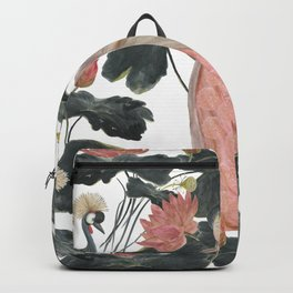 Asian woman Backpack