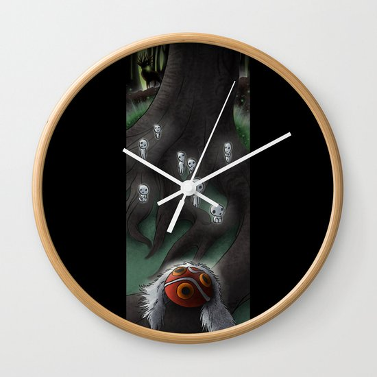 Spirit of the Forest Wall Clock