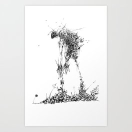 Gatherer Art Print