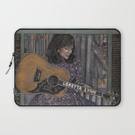 Loretta Lynn Laptop Sleeve