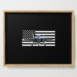 F-35 (Black Flag) Serving Tray