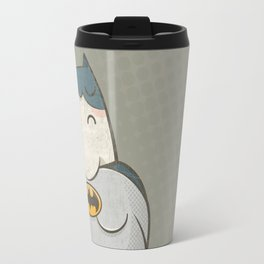 Too Fat To Bat Travel Mug