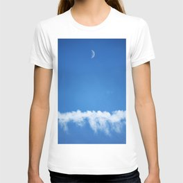 Moon and Contrail T-shirt