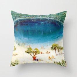 Stradbroke Island, AUSTRALIA Throw Pillow