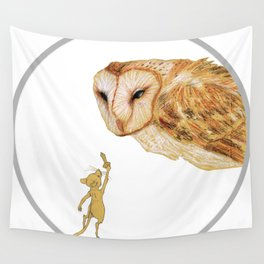Brave Little Warrior Wall Tapestry