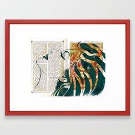 Ava - Flower of The Sea Framed Art Print