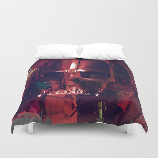 darth Abstract vader Duvet Cover