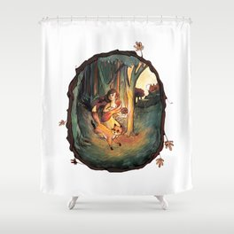 Once upon a....? Shower Curtain