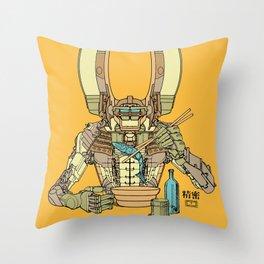 Sushi Droid Ver. 2 Throw Pillow
