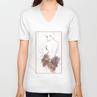 chic V-neck T-shirts featuring Chic by Sarah Soh