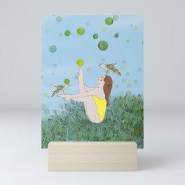 Morning Stretch Mini Art Print