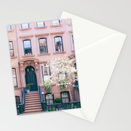 Spring in Greenwich Village - New York Photography Stationery Cards