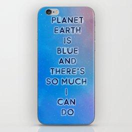 Planet Earth iPhone Skin