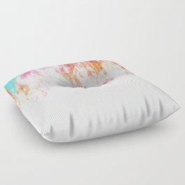 Sorbet Summer Floor Pillow