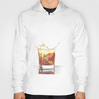 whiskey Hoodies featuring Whiskey by Giorgio Arcuri