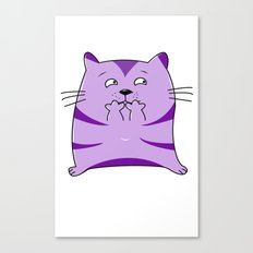 Fraidy Cat Canvas Print