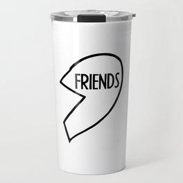 Best Friends T-Shirt I BFF, Couple, Burger Travel Mug