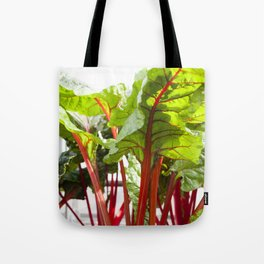Swiss Chard in Color Tote Bag