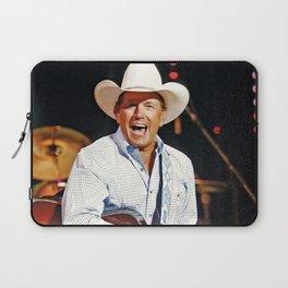 CMA-Entertainer-George-Strait Laptop Sleeve